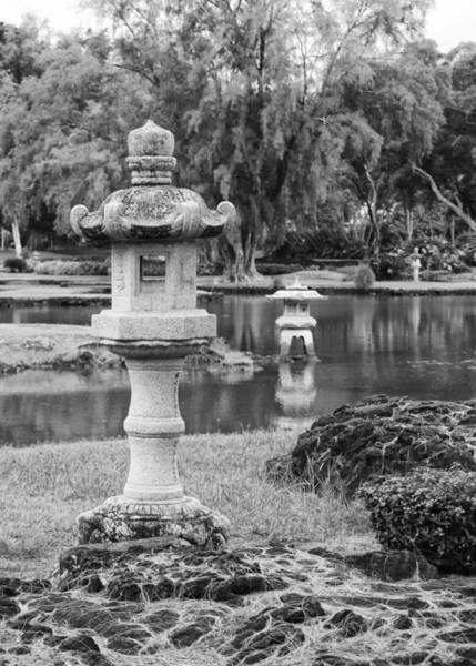 Photograph - Three Lanterns by Harold Rau