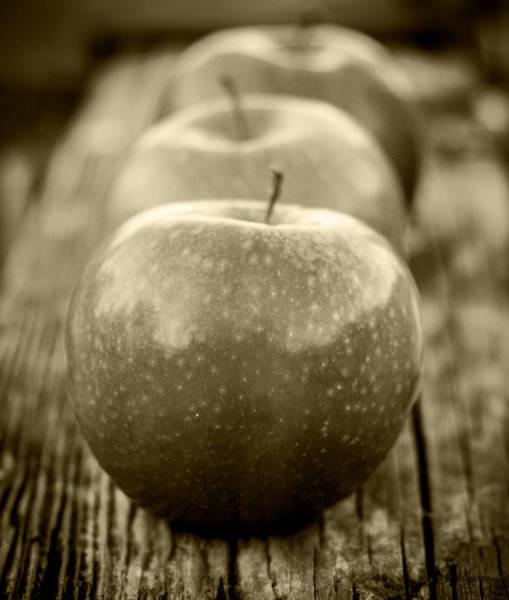 Wall Art - Photograph - Three Little Apples by Mechala Matthews