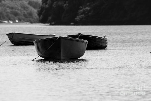Photograph - Three Little Boats by Brian Roscorla
