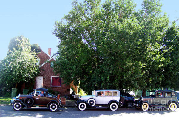 Photograph - Three Model A Fords by Charles Robinson