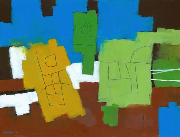 Wall Art - Painting - Three Musicians by Douglas Simonson