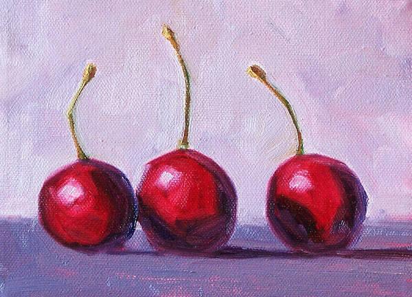 Vegan Painting - Three by Nancy Merkle