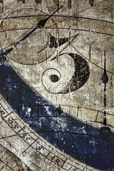 Clock Wall Art - Photograph - Three O'clock by Carol Leigh