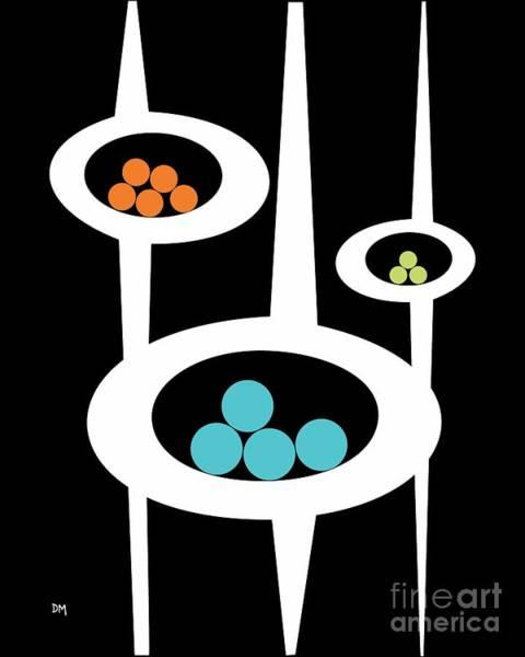 Digital Art - Three Pods I by Donna Mibus