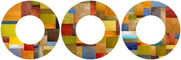 Pea Digital Art - Three Rings 2.0 by Michelle Calkins