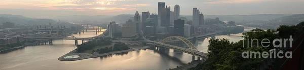 Photograph - Three Rivers Sunrise Panorama by Adam Jewell