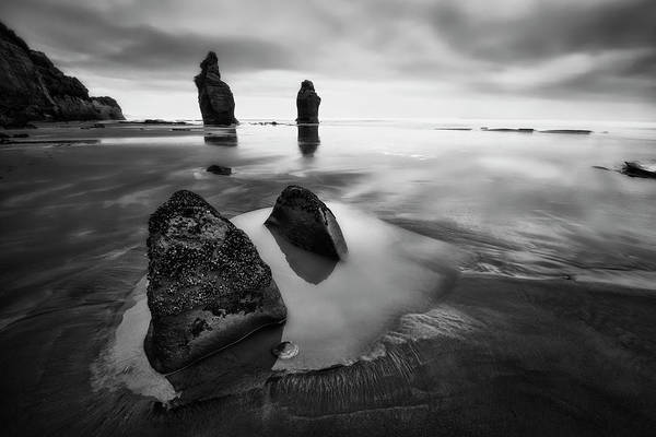 Wall Art - Photograph - Three Sisters Beach by Yan Zhang