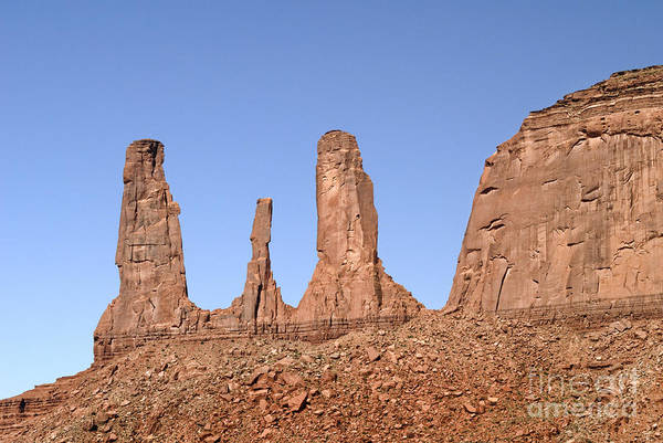 Photograph - Three Sisters Butte by Brenda Kean
