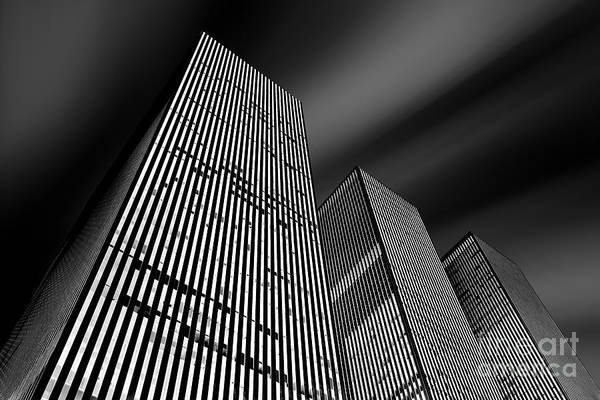 Financial District Photograph - Three Towers by Az Jackson