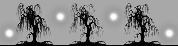 Wall Art - Digital Art - Three Trees by Bob Orsillo