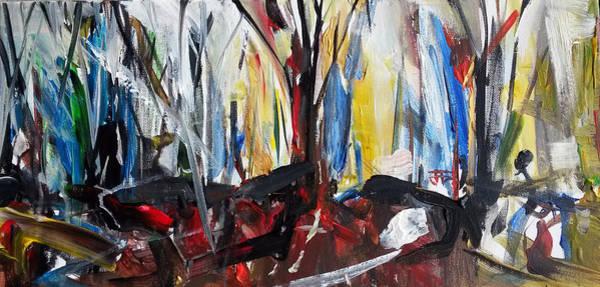 Painting - Three Trees by John Jr Gholson