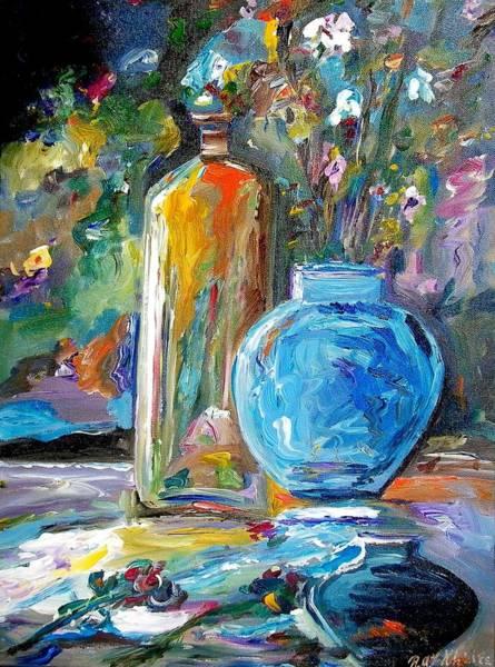 Painting - Three Vases by Ray Khalife