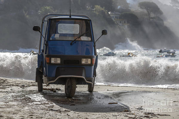 Sestri Levante Photograph - Three Wheels Car by Mats Silvan