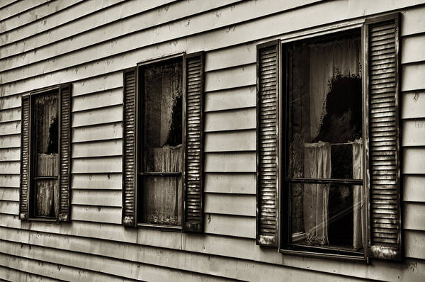 Plumas County Photograph - Three Windows by Mick Burkey
