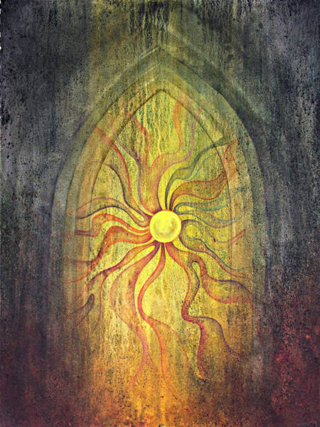 Wall Art - Painting - Threshold by Ellen Starr