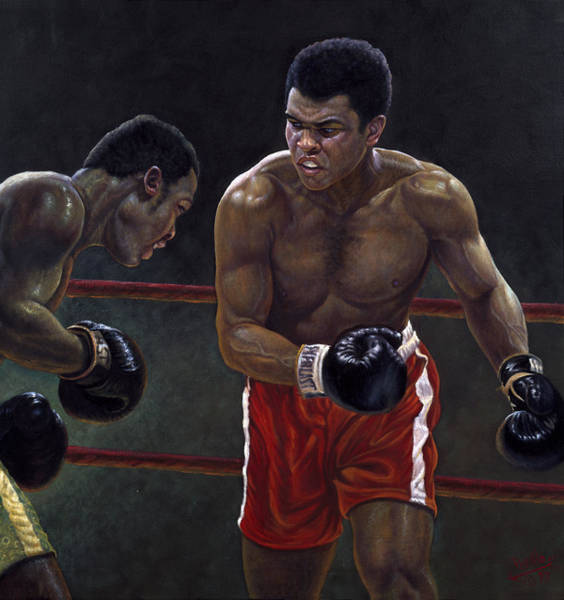 Olympic Painting - Thrilla In Manilla by Gregory Perillo