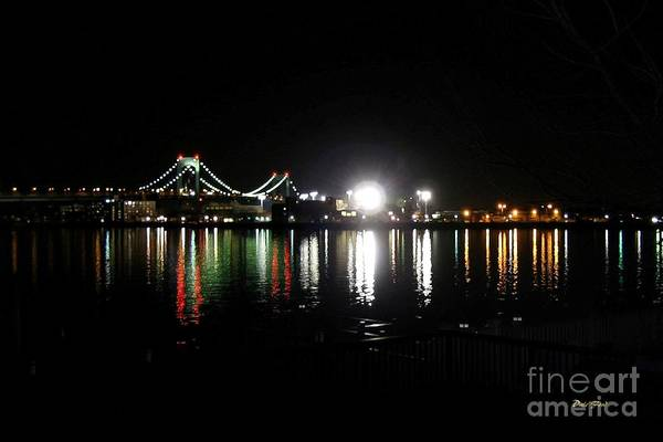 Digital Art - Throggs Neck Bridge by Dale   Ford
