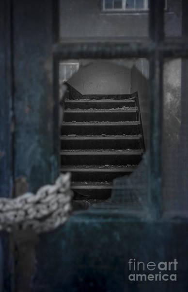 Rusty Chain Wall Art - Photograph - Through A Broken Glass by Svetlana Sewell