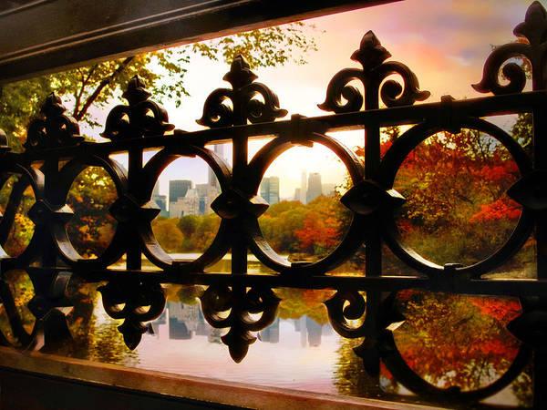 Bridge Bank Photograph - Through Bank Rock Bridge by Jessica Jenney