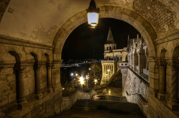 Eastern Europe Digital Art - Through The Arch by Nathan Wright