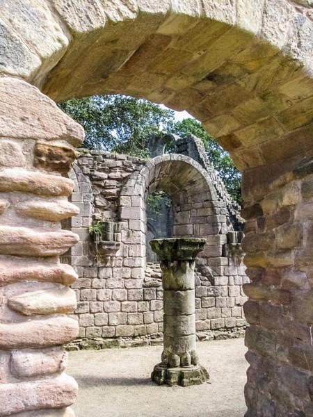 Photograph - Through The Arch by Susan Leonard