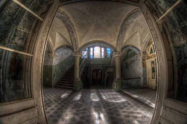 Wall Art - Digital Art - Through The Arches by Nathan Wright