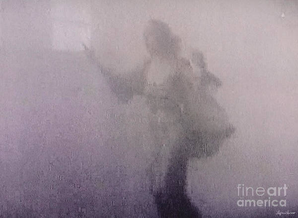 Lavender Mist Wall Art - Digital Art - Through The Mist by Lyric Lucas
