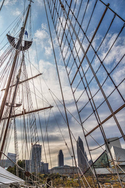 Photograph - Through The Rigging by Dale Kincaid