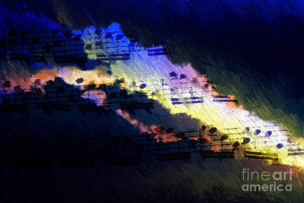 Digital Art - Through The Storm by Lon Chaffin