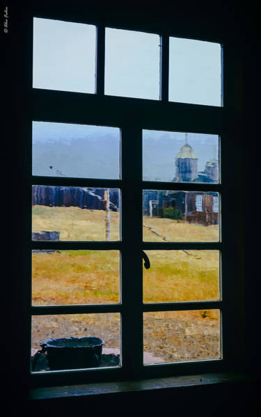Photograph - Through The Window by Alexander Fedin