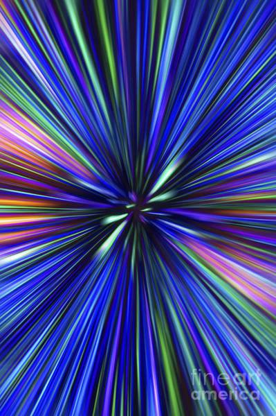 Through The Wormhole.. Art Print