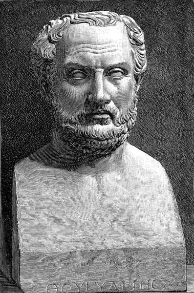 Dialogue Photograph - Thucydides by Collection Abecasis
