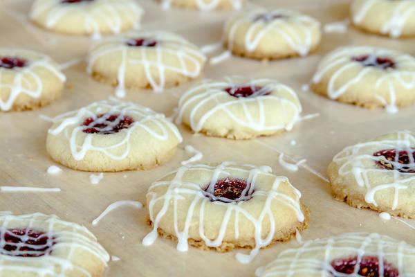 Photograph - Thumbprint Cookies by Teri Virbickis
