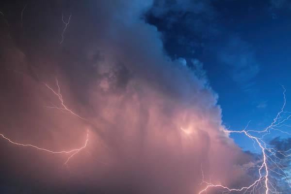 Thunder God Approaches Art Print
