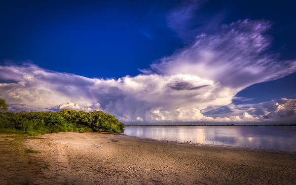 Tampa Photograph - Thunder Head Coming by Marvin Spates