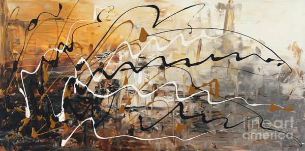 Painting - Thunder by Preethi Mathialagan