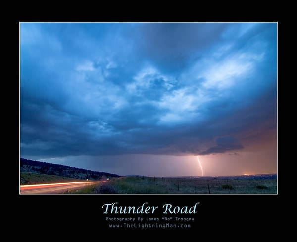 Photograph - Thunder Road by James BO Insogna