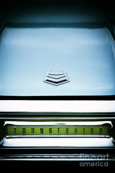 Ford Motor Company Photograph - Thunderbird Abstract by Tim Gainey