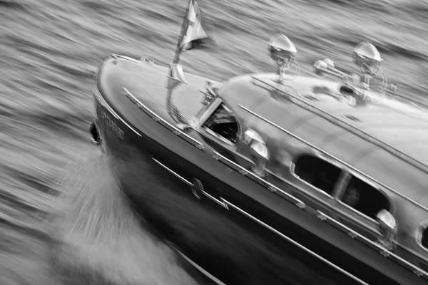 Photograph - Thunderbird Black And White by Steven Lapkin