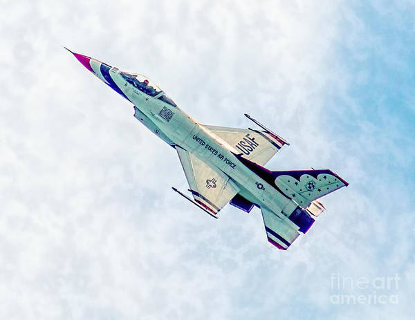 Photograph - Thunderbird Flying High by Nick Zelinsky