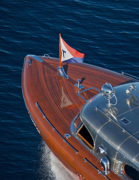 Photograph - Thunderbird Foredeck by Steven Lapkin