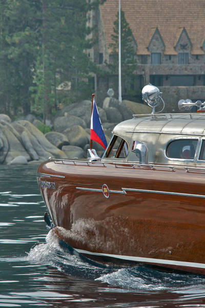 Photograph - Thunderbird Lodge And Yacht by Steven Lapkin