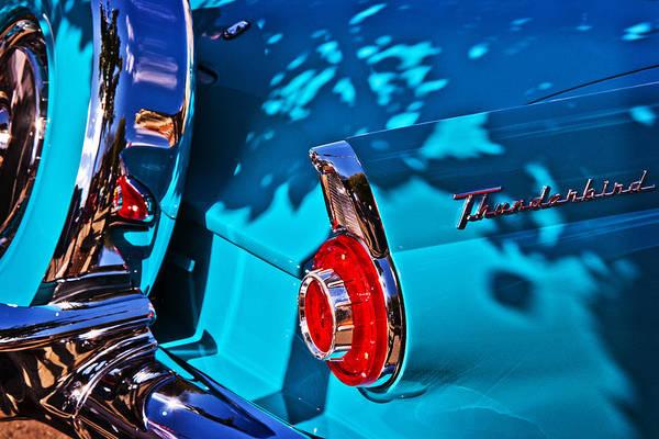 Ballston Spa Photograph - Thunderbird Tail by Julie Palyswiat