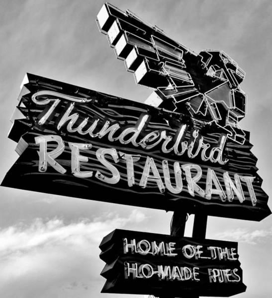 Wall Art - Photograph - Thunderbird Utah Black And White by Benjamin Yeager