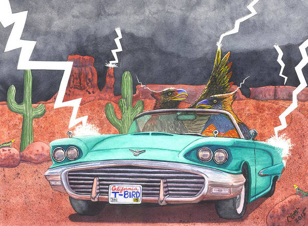 Painting - Thunderbirds by Catherine G McElroy