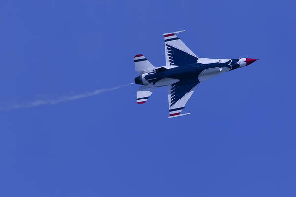 Photograph - Thunderbirds Solo Underside by Donna Corless