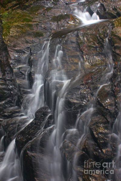 Photograph - Thundering Brook Falls by Amazing Jules