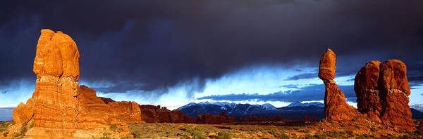 Wall Art - Photograph - Thunderstorm Arches National Park by Panoramic Images