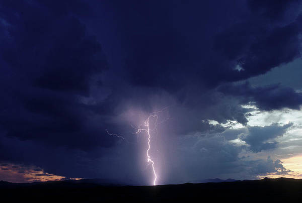 Wall Art - Photograph - Thunderstorm Over Sedona, Arizona by Peter Essick