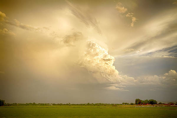 Ugly Photograph - Thunderstorm Rears Ugly Head by James BO Insogna